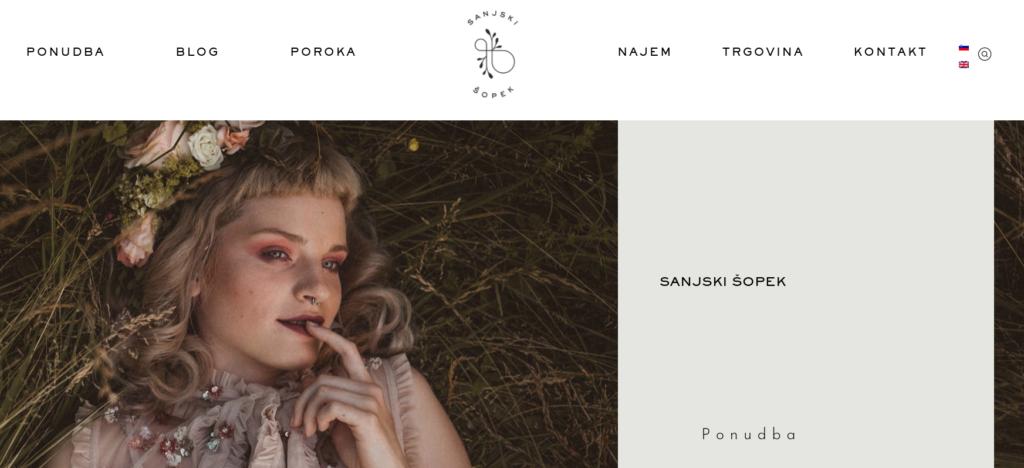 slovenska spletna trgovina sanjski sopek